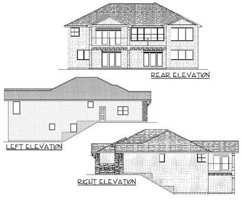 hillside house plans with walkout basement spacious hillside home with walkout basement 67702mg