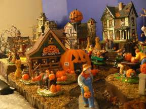 halloween village decorations 17 best images about display cases on pinterest village