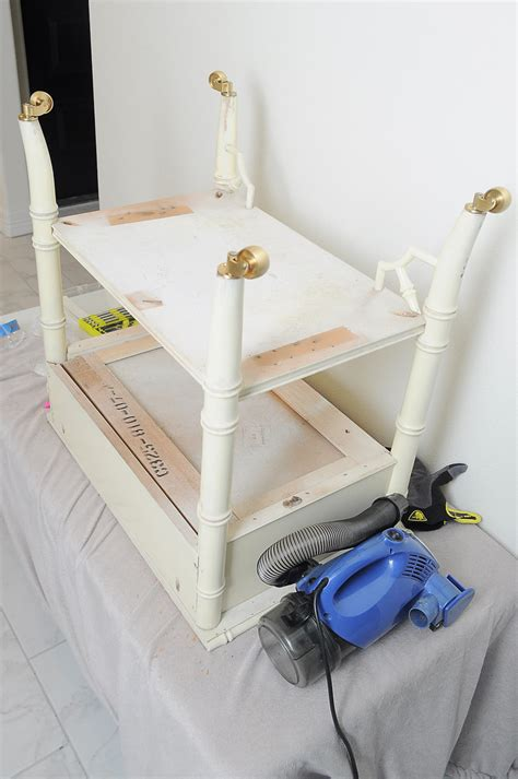 how to add casters to table legs how to an end table taller wants it