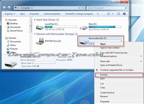 Format Video Laptop | how to create a bootable windows 7 usb flash drive daves
