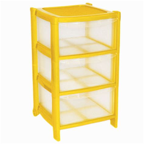 3 Drawer Tower Storage Unit by 3 Drawer Plastic Large Tower Storage Drawers Chest Unit With Wheels Made In U K Ebay