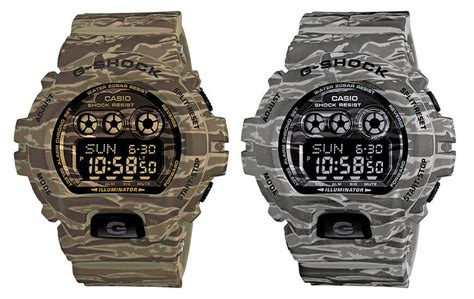 Gshock Series the top camouflage g shock watches g central g shock