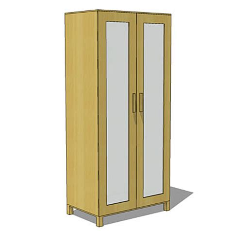 Aneboda Wardrobes by Aneboda Wardrobe 3d Model Formfonts 3d Models