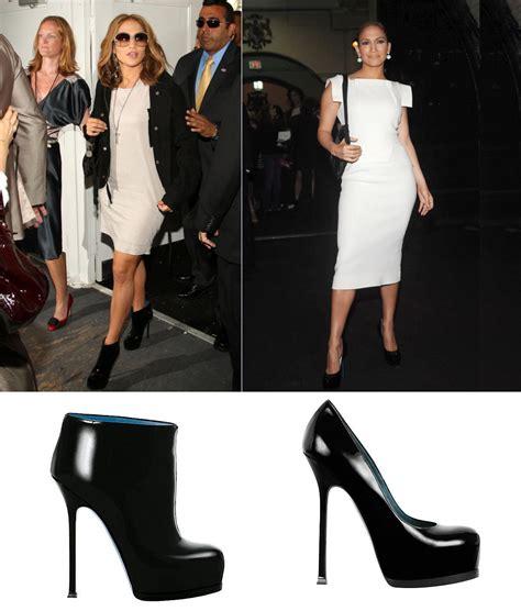 Ysl Ida Boots As Seen On Aniston by Marc Dvf 2009 Fashion Week Ny