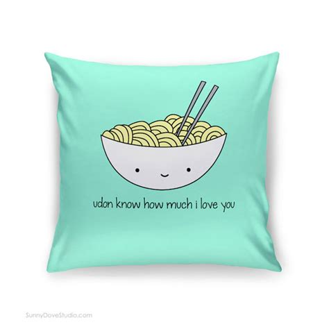 Interesting Pillows by Pillow I You Quote Food Pun Gift For