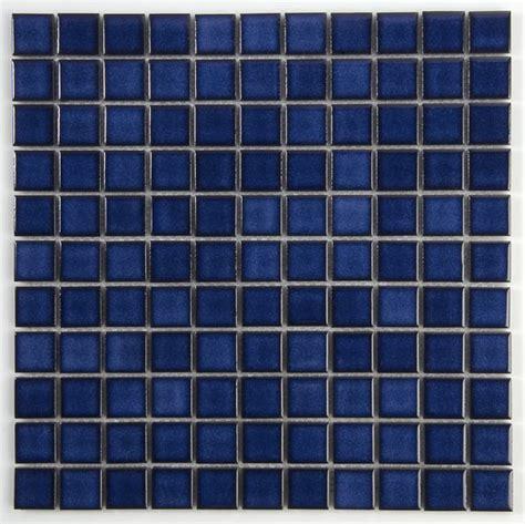 fliesen blau keramik mosaik fliesen 25x25x4mm blau kmbl25 m