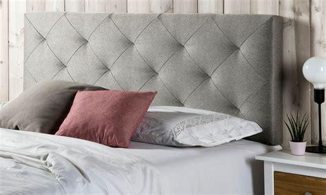 cabecero cama de tela de hasta 74 cabecero de cama tapizado en tela groupon