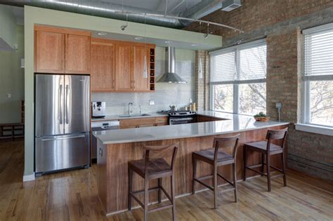 loft kitchen ideas loft style kitchen contemporary kitchen chicago by