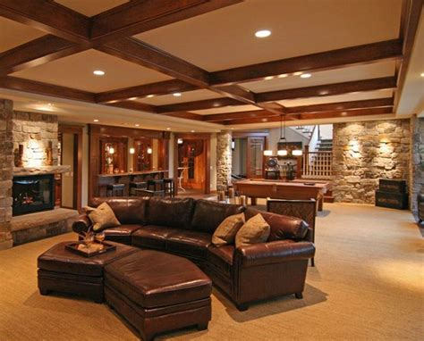 houses with finished basements luxury basements a collection of design ideas to try