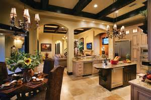 Ferretti House Plan Sater Design Collection S 6786 Quot Ferretti Quot Home Plan Mediterranean Kitchen By Sater Design