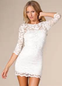 Galerry lace white dress