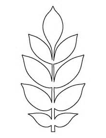 Leaf Template by Best 25 Leaves Template Free Printable Ideas On