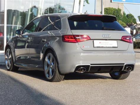 Audi Rs3 Grau by Audi Rs 3 Sportback 2 5 Tfsi Quattro Grau Normal 367 Ps