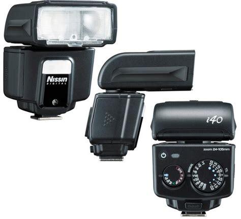 Nissin I40 Fujifilm International nissin i40 compact shoe flash light for sony