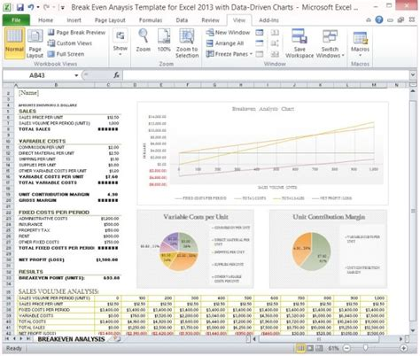 data analysis excel template even analysis template for excel 2013 with data