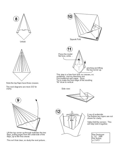How To Fold Wars Origami - wars origami