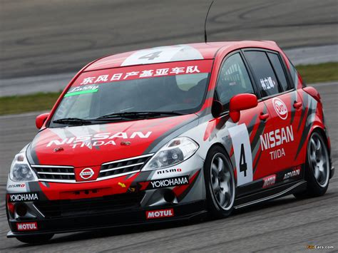 hatchback race cars tiida hatchback unveiled 2012 nissan front angle