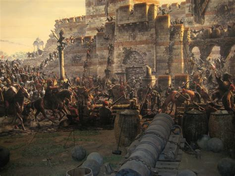 Chute Empire Ottoman by Fall Of Constantinople 1453 1 Today In History