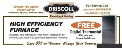 Driscoll Plumbing by New Furnace Installation From 3 499 At Driscoll Plumbing Heating Home Garden Coupons