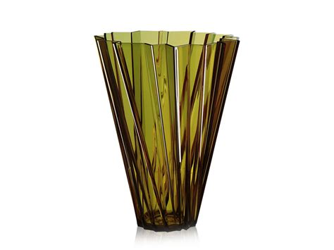 buy the kartell shanghai vase at nest co uk