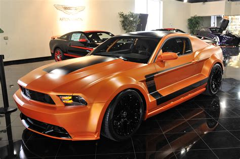 ford mustang boss    galpin auto sports