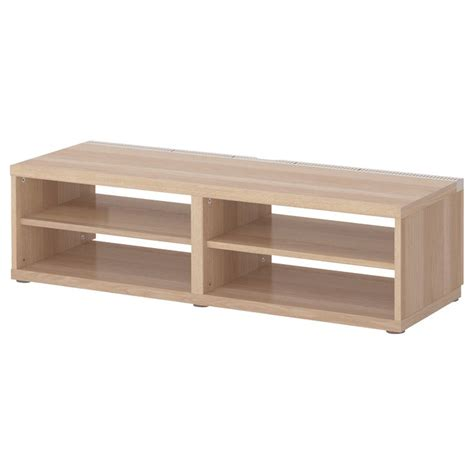 oak tv bench best 197 tv bench white stained oak effect ikea living
