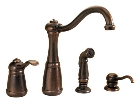 rustic bronze one handle kitchen faucet pp gt26 4nuu