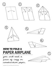 How To Fold A Paper - stem paper airplane challenge