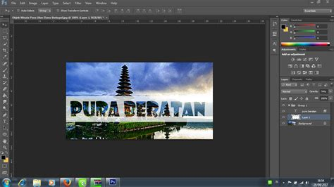 tutorial membuat gambar transparan di photoshop membuat text transparan di photoshop cuma 6 langkah