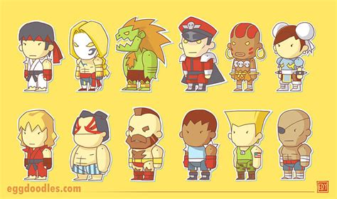 1600 sf to sm egg doodles street fighter x scribblenauts
