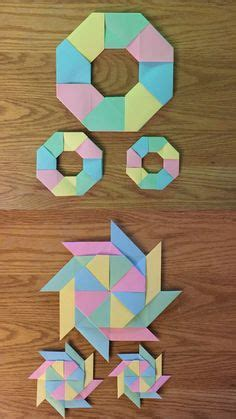 Math Origami Projects - 1000 images about math school stuff on
