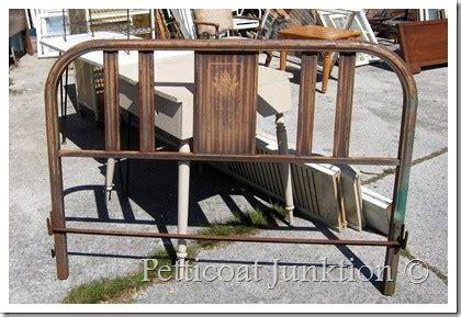 Vintage Metal Headboard by Vintage Metal Headboard Painted Furniture