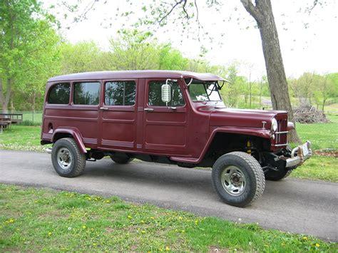 willys jeep truck 4 door willys wagon four door autos post