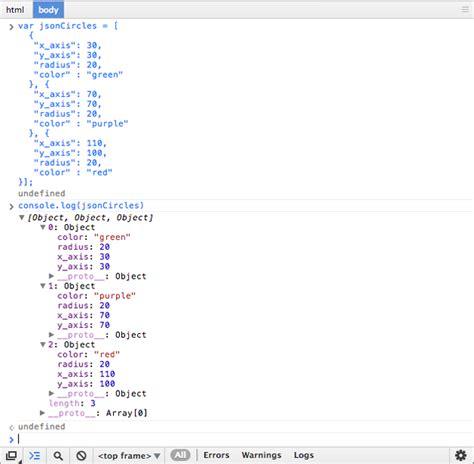 tutorial javascript object forex json tutorial array espeverho s blog