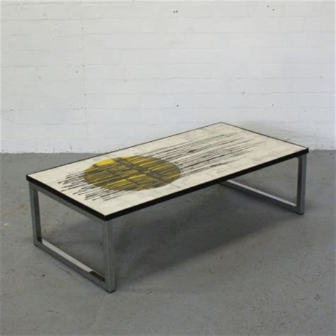 Coffee Table Manufacturers Coffee Table By J Belarti For Unknown Manufacturer 13424