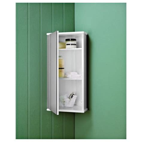 tesco bathroom cabinets buy southwold white wood corner mirror cabinet from our