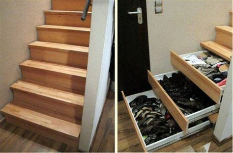 understairs shoe storage original storage ideas stairs home design garden