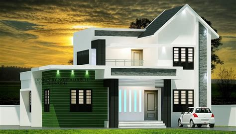 contemporary modern house plan with 1700 square feet and 3 1700 square feet double floor contemporary home design