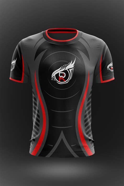 layout jersey custom design esports gaming jersey vimost sports