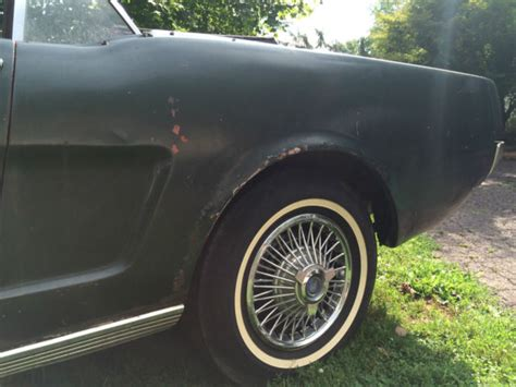 1965 mustang convertible project for sale 1965 ford mustang convertible v8 project