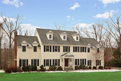 luxury center hall colonial in ridgefield ct