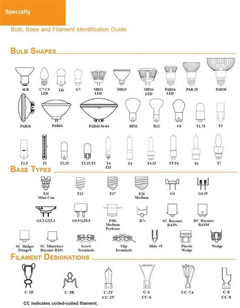 light bulb base sizes light bulb size chart pacific