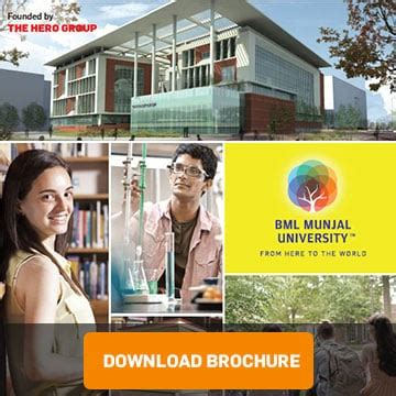 Bml Munjal Mba Fees bml munjal fee structure 2018 19 bba mba