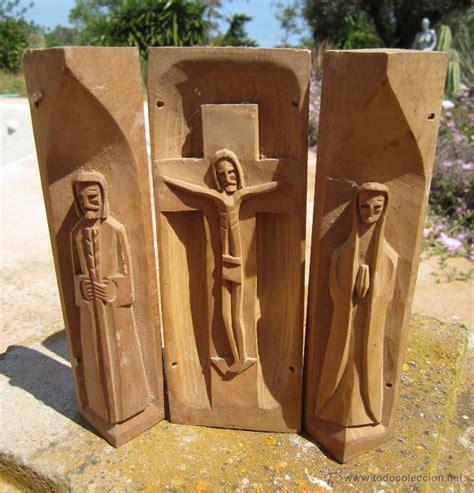 imagenes religiosas en madera triptico religioso tallado en madera comprar crucifjos