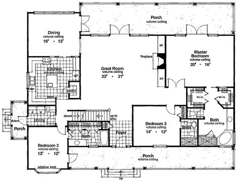 2500 Sq Ft Ranch House Plans | 5 bedroom floor family home plans 2500 sq ft ranch homes