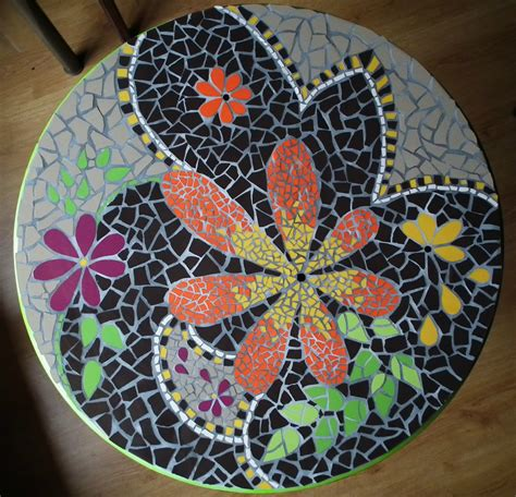 table de jardin en mosaique 2630 table de jardin en mosaique 71 94 oval outdoor
