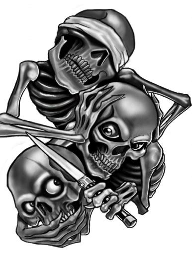 see hear speak no evil tattoo design see no evil hear no evil speak no evil skull designs