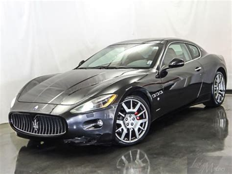 how to learn about cars 2009 maserati granturismo security system find used 2009 maserati granturismo coupe in villa park illinois united states for us 58 889 00