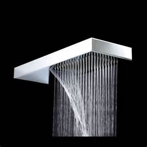 shower heads home depot waterfall shower home depot