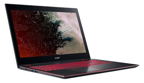 Laptop Acer Nitro the acer nitro 5 spin is a convertible designed for casual gaming notebookcheck net news